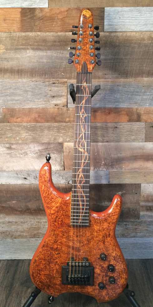 ENKE DESIGNS Rosewood Burl 12-String