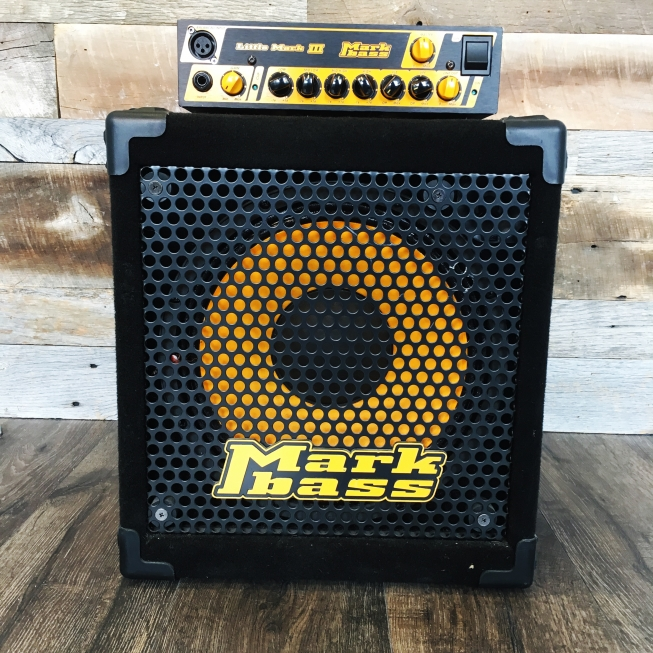 MARKBASS Little Mark III head /New York 121 cab