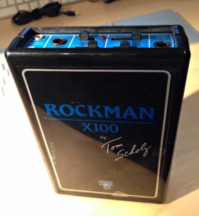 ROCKMAN X100