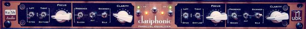 UBK Clariphonic Parallel Equalizer