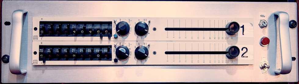 ELECTRODYNE 710 Channel Strips (x2)