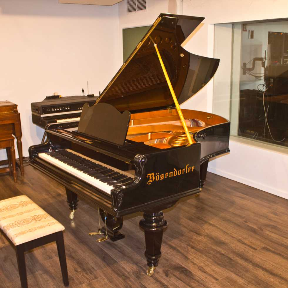 BÖSENDORFER grand piano (1890s)