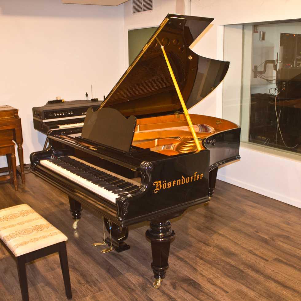 BÖSENDORFER grand piano (1890s)