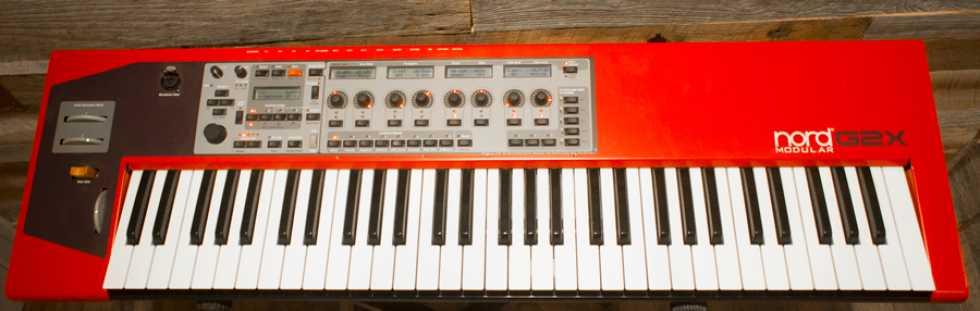 NORD G2X Modular Synthesizer